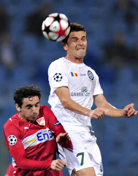 Unirea Urziceni a obţinut primul punct în Liga Campionilor