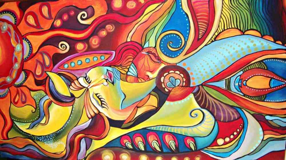 Interviu cu românca Lavinia Iulia Falcan, care vinde tablouri la New York şi pictează pe ziduri - VIDEO