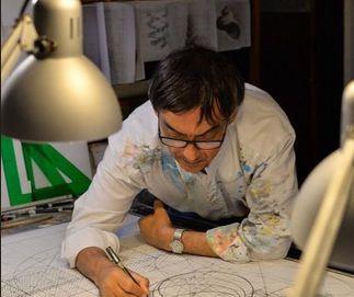 Imaginea articolului Cea mai complicată carte de colorat a fost desenată de mână timp de peste 40 de ani
