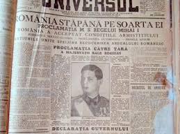 Pe 23 august 1944 s-a schimbat istoria. Ziua Comemorării Victimelor Fascismului şi Comunismului