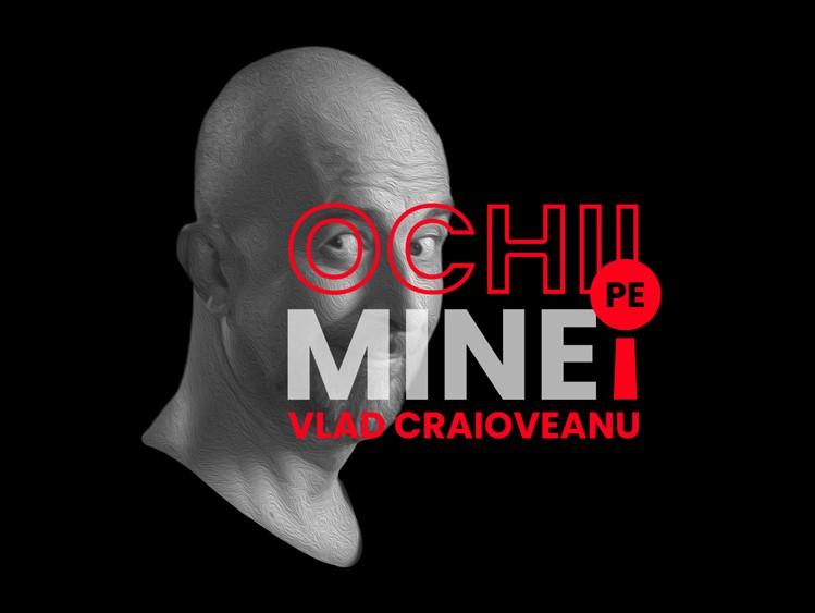 """""""Ochii pe mine!"""", cu Vlad Craioveanu. Invitaţi la Aleph News: Vasile Oşean, medic de recuperare medicală şi Beniamin Mincu, fondator & CEO Elrond Network"""