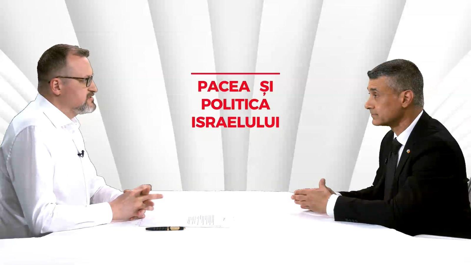 """E.S. David Saranga, ambasadorul Israelului în România, la """"ÎN SECURITATE"""": """"Ce ştim sigur este că vom avea nevoie de încă(...)"""