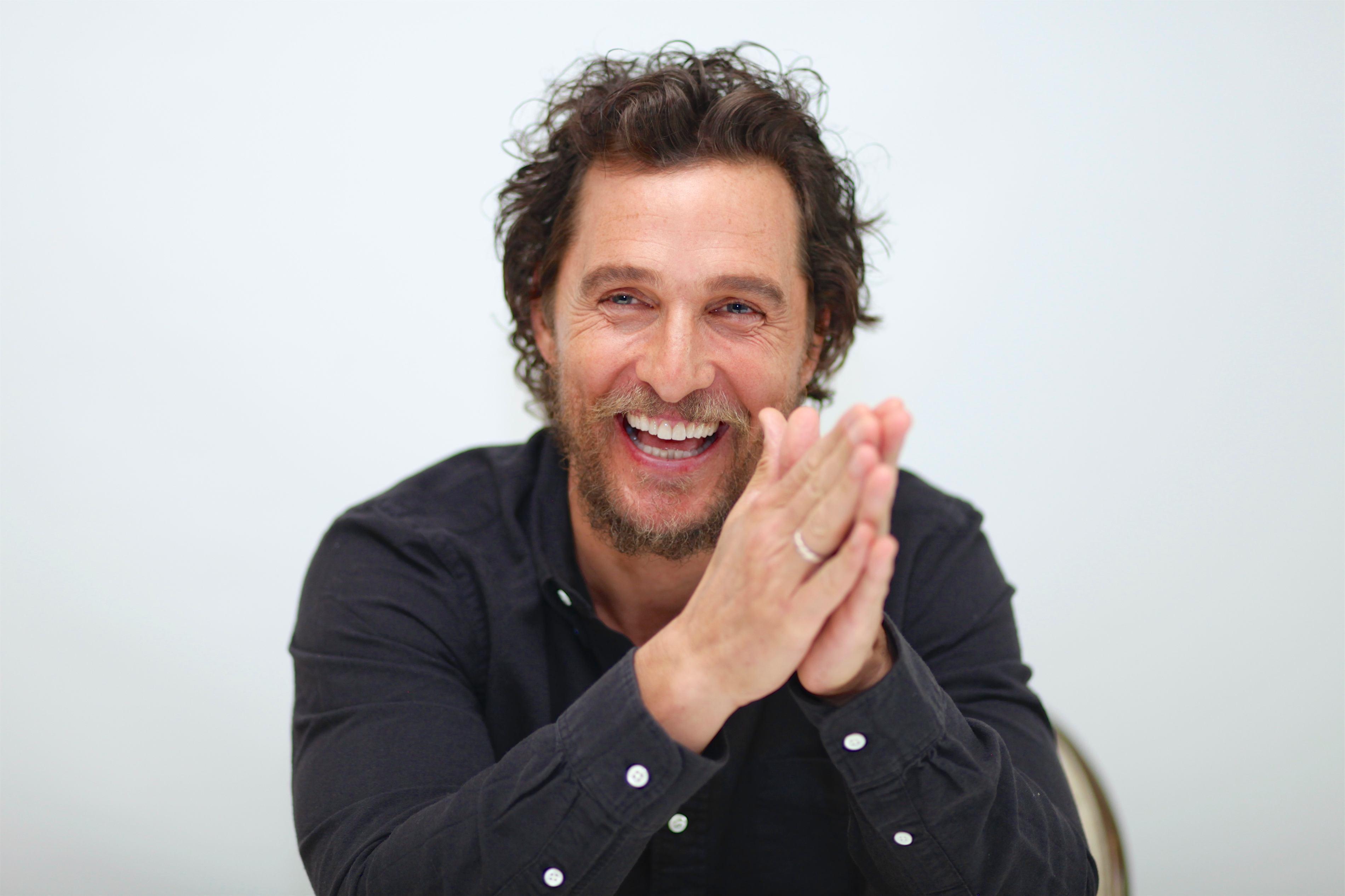 Matthew McConaughey dorea să fie tată de la 8 ani
