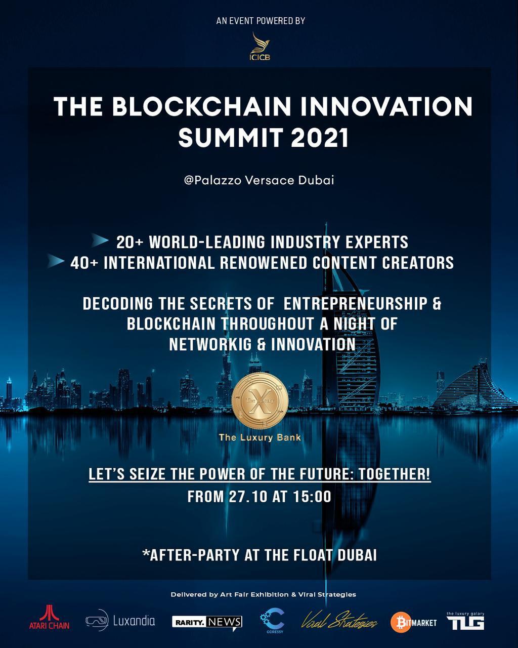 The Blockchain Innovation Summit