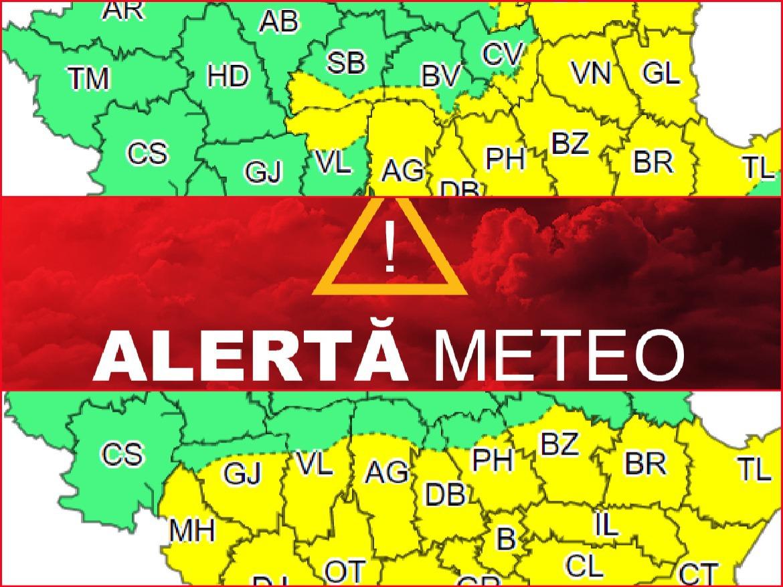METEO Urmează două zile de caniculă în sudul şi sud-estul ţării. Furtună în Moldova, Muntenia şi(...)