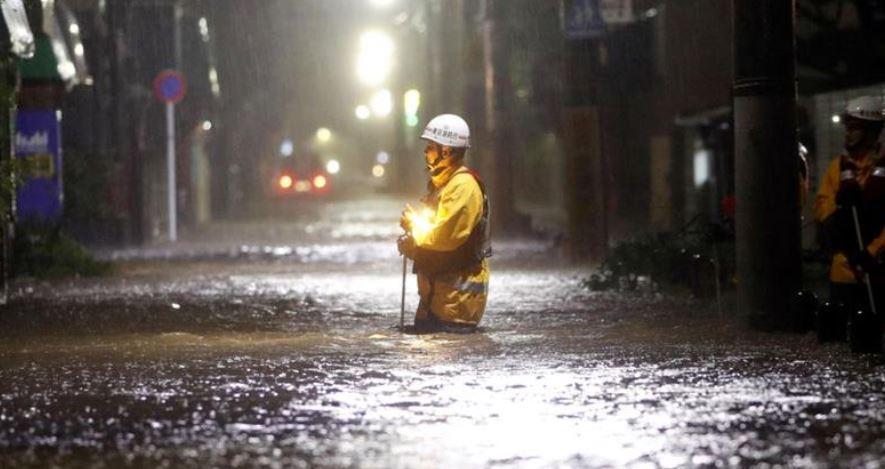 Japonia, grav afectată de Hagibis: Cel mai devastator taifun din ultimele şase decenii