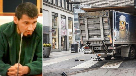 Imaginea articolului Autorul atacului terorist, cu camionul, în Stockholm, ÎNCHIS pe viaţă