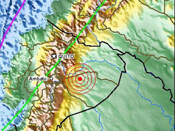 Imaginea articolului Un cutremur cu magnitudinea de 6.3 grade pe scara Richter s-a produs în Ecuador