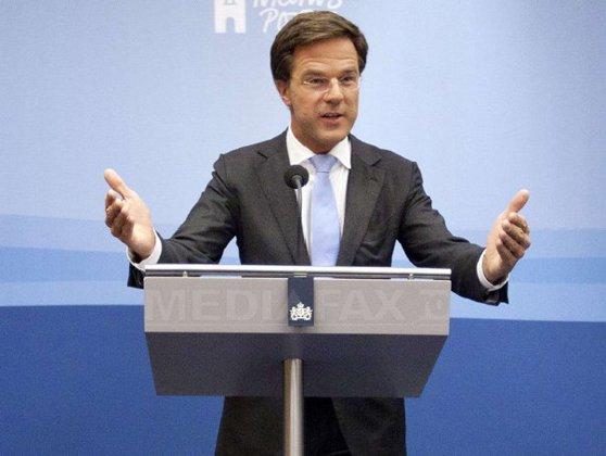 Imaginea articolului Premierul Olandei a declarat că ţara lui are îngrijorări cu privire la statul de drept în România. Rutte: Să vedem ce va spune Comisia Europeană