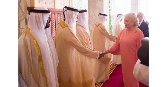 """Imaginea articolului Viorica Dăncilă, întrevedere cu Fatima Bint Mubarak, soţia fondatorului EAU, """"Mama Emiratelor"""""""