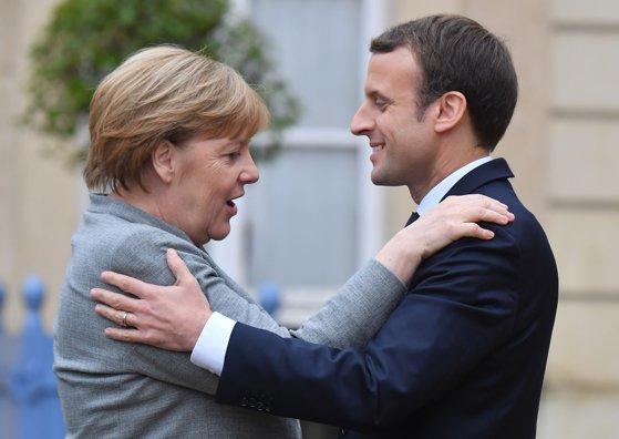 """Imaginea articolului Macron militează pentru o """"Europa unită"""", cu doi aliaţi puternici. Discurs în faţa Parlamentului german"""