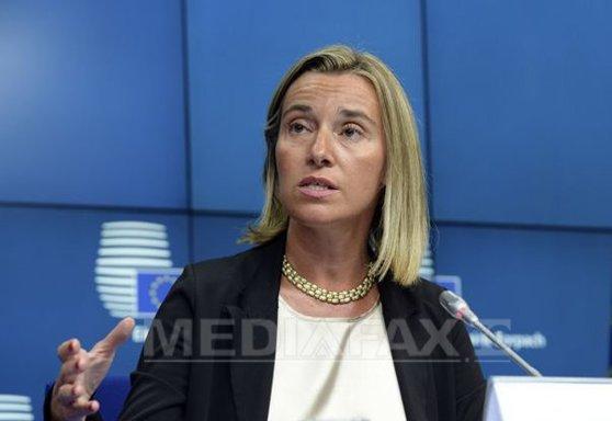 Imaginea articolului Federica Mogherini: Planurile de consolidare a Apărării UE nu au rolul de a genera concurenţă cu NATO