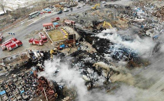 Imaginea articolului EXPLOZIE la o fabrică din China: Cel puţin două persoane au murit şi zeci de oameni au fost răniţi | FOTO, VIDEO