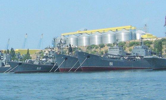 Imaginea articolului Flota rusă a Mării Negre a efectuat exerciţii cu rachete în largul Crimeei