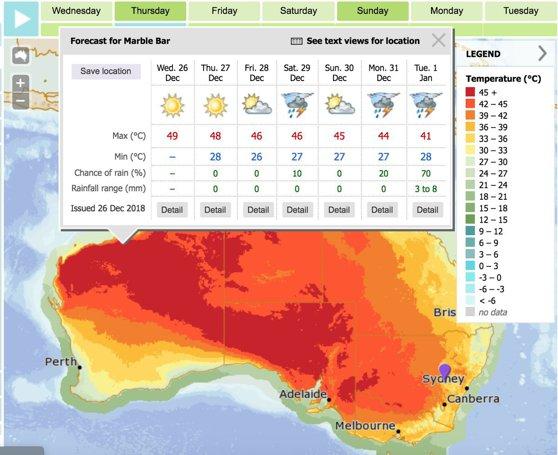 Imaginea articolului De la o extremă la alta. Australia se sufocă din cauza recordurilor de temperatură