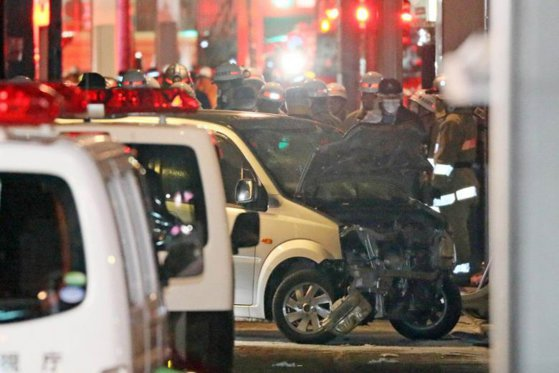 Imaginea articolului ATAC terorist în noaptea de Revelion. Un individ a intrat cu maşina în mulţimea strânsă la festivităţi, la Tokyo. Bilanţul victimelor