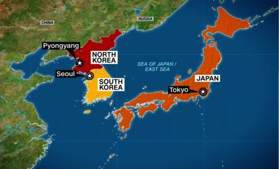 The secret military base of New North Korea has revealed to Presidents Donald Trump and Kim Jong-Un