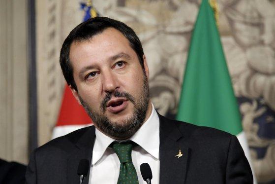 """Imaginea articolului Matteo Salvini speră că Uniunea Europeană îşi va regăsi """"sensul şi valorile"""" în mandatul Preşedinţiei României la Consiliul UE: Le mulţumesc cetăţenilor români   VIDEO"""