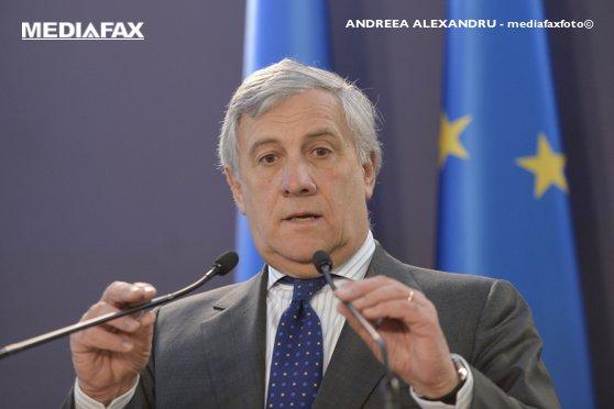 """Imaginea articolului Antonio Tajani a transmis Consiliului UE că PE o susţine pe Kovesi la şefia Parchetului European/ Vera Jourova cere o abordare """"corectă"""""""
