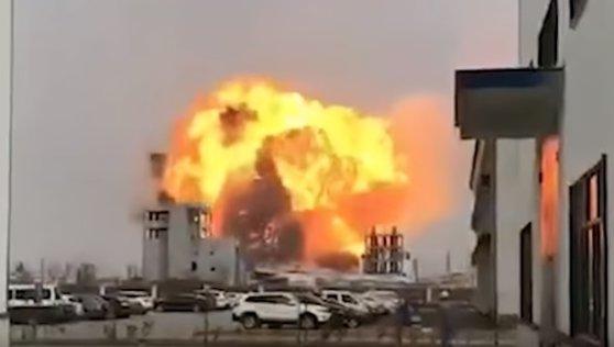 Imaginea articolului Bilanţul accidentului industrial din China: Cel puţin 47 de morţi şi 90 de răniţi   VIDEO