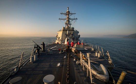 Imaginea articolului Şeful NATO: Alianţa Nord-Atlantică consolidează prezenţa militară în zona Mării Negre din cauza agresiunilor Rusiei