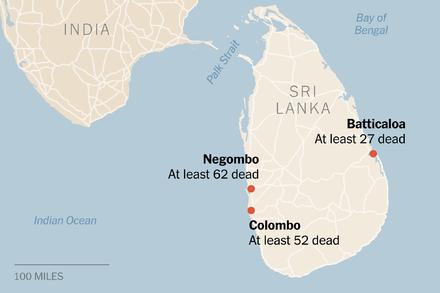 Imaginea articolului Atac dejucat. BOMBĂ găsită şi distrusă în aeroportul principal din Sri Lanka, la doar câteva ore după atacurile comise în biserici şi hoteluri de Paşti