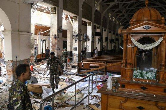 Imaginea articolului MASACRUL din Sri Lanka: Bilanţul atacurilor a ajuns la 290 de morţi şi cel puţin 500 de răniţi/ Zeci de străini, printre victime | FOTO, VIDEO