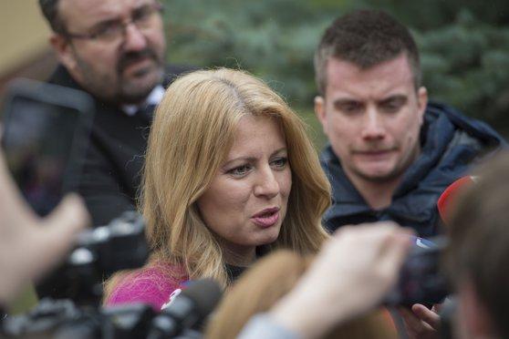 Imaginea articolului Zuzana Caputova a fost învestită în funcţia de preşedinte al Slovaciei