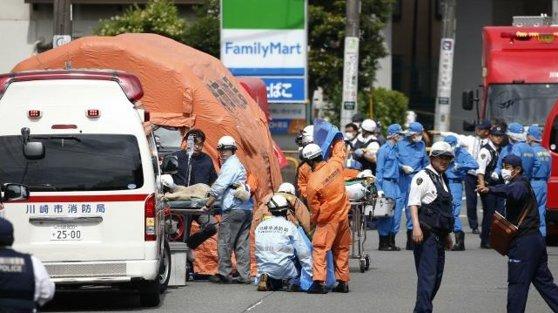 Imaginea articolului Poliţist înjunghiat de mai multe ori în piept cu un cuţit de bucătărie, în Japonia
