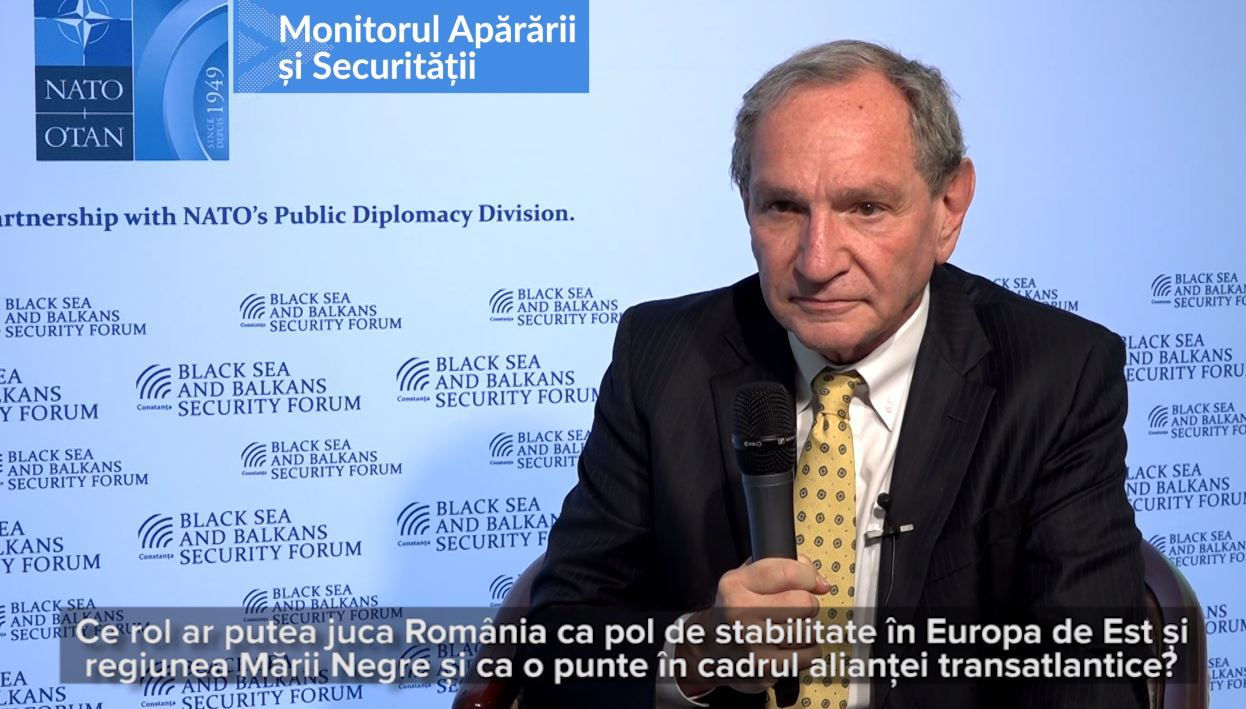 INTERVIU cu analistul american George Friedman: România ar trebui să fie limitată în ambiţii, dar să aibă obiectivul de a fi o putere economică | VIDEO