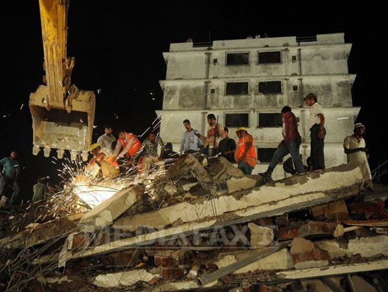 Imaginea articolului Cel puţin 13 morţi şi 23 de răniţi în urma prăbuşirii unei clădiri în Cambodgia