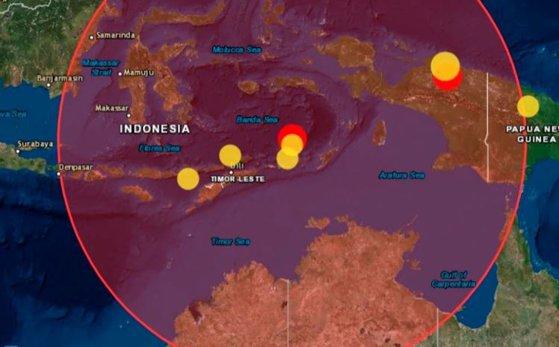 Imaginea articolului CUTREMUR de 7,5 grade produs în Indonezia, resimţit în Australia/ Mai multe clădiri din oraşul Darwin au fost evacuate