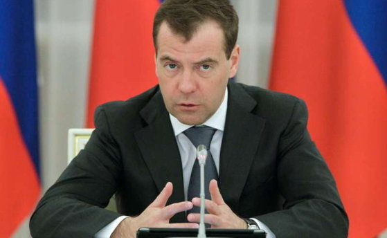 Imaginea articolului Premierul Rusiei, Dmitri Medvedev, se află într-o vizită oficială în Franţa