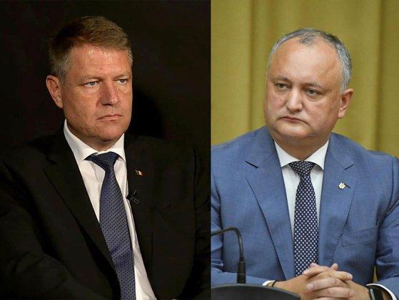 Imaginea articolului Dodon, convorbire telefonică cu Iohannis: Şeful statului, invitat de preşedintele moldovean la Chişinău