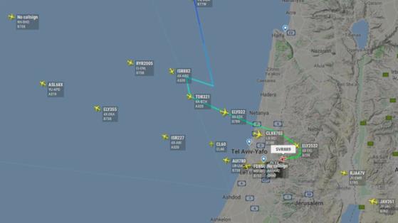 Imaginea articolului Sistemul GPS, afectat de perturbări în spaţiul aerian israelian/ Traficul aerian se desfăşoară normal