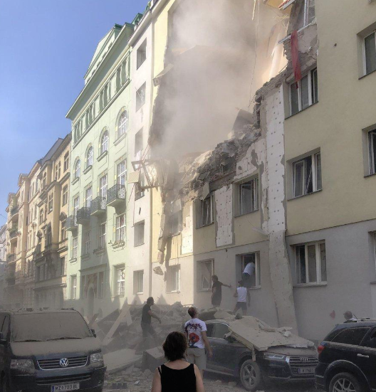 Imaginea articolului EXPLOZIE puternică într-un imobil din Viena: Cel puţin 12 persoane au fost rănite | FOTO, VIDEO