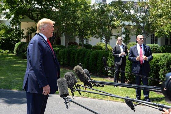 Imaginea articolului Donald Trump, replică dură pentru jurnalişti: Nu e treaba voastră ce voi discuta cu Vladimir Putin