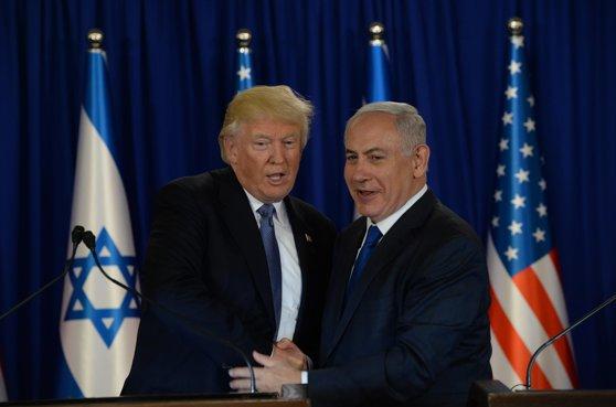 """Imaginea articolului Donald Trump a discutat cu Benjamin Netanyahu despre oprirea """"acţiunilor negative"""" ale Iranului"""