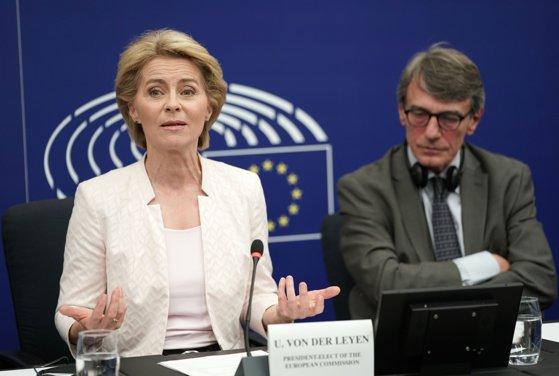 Imaginea articolului Ursula von der Leyen, avertisment împotriva comportamentului INCORECT faţă de statele estice din UE/ Ce spune despre amânarea Brexit