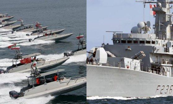 Imaginea articolului Iran: O navă militară britanică a încercat să împiedice capturarea petrolierului Stena Impero în zona Strâmtorii Ormuz/ Răspunsul Marii Britanii