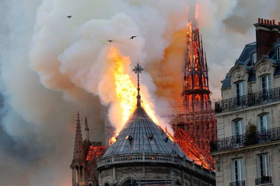 Imaginea articolului Temperaturi record în Europa. Catedrala Notre-Dame, în pericol din cauza valului de căldură