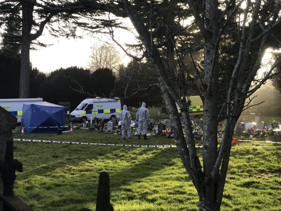Imaginea articolului Un poliţist britanic, otrăvit în 2018 cu aceeaşi substanţă neorotoxică folosită în cazul Skripal