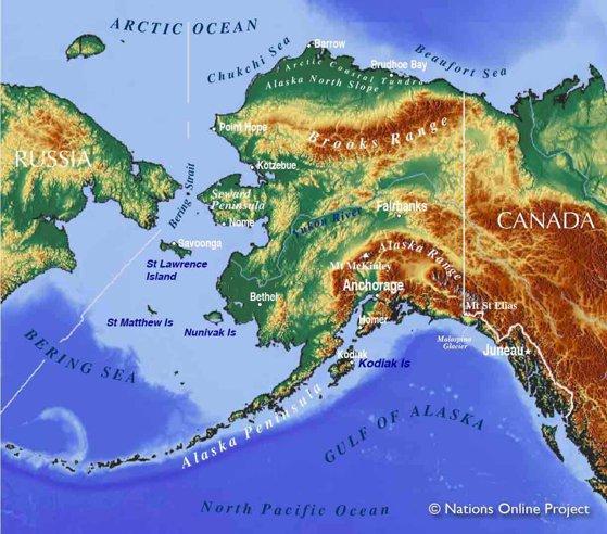 Imaginea articolului Sute de turişti, blocaţi într-o rezervaţie naturală din Alaska