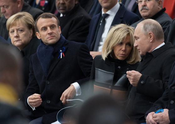 Imaginea articolului Emmanuel Macron susţine că revenirea la formatul G8, prin reprimirea Rusiei, depinde de soluţionarea crizei din Ucraina
