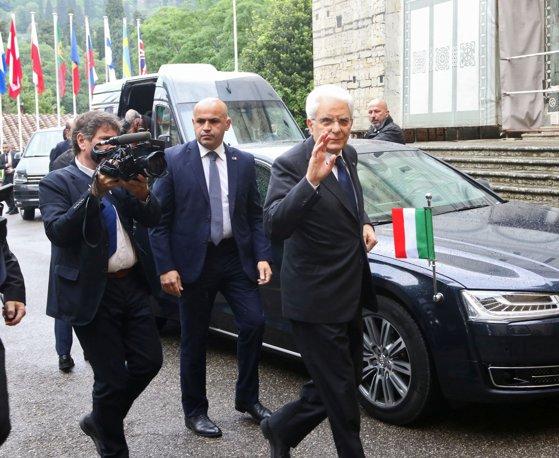 Imaginea articolului Preşedintele Sergio Mattarella a dat termen până marţi partidelor italiene să ajungă la un acord privind formarea unui nou Guvern