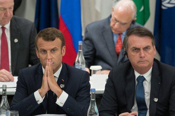 """Imaginea articolului Disputa dintre Bolsonaro şi Macron continuă: Preşedintele brazilian îi cere liderului francez să-şi retragă """"insultele"""" la adresa sa"""