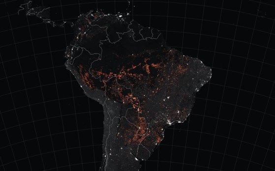 Imaginea articolului Suprafaţa URIAŞĂ de pădure pe care a pierdut-o Bolivia anul acesta din cauza incendiilor