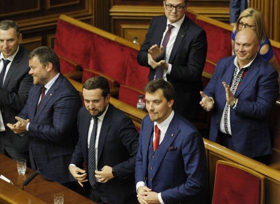 Imaginea articolului Oleksi Honcharuk este noul premier al Ucrainei