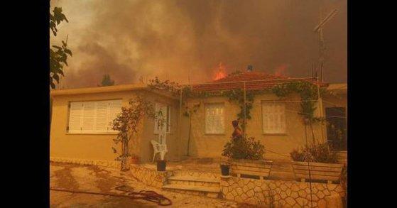 Imaginea articolului Incendii de vegetaţie în insula greacă Zakynthos. Sute de persoane, evacuate - VIDEO