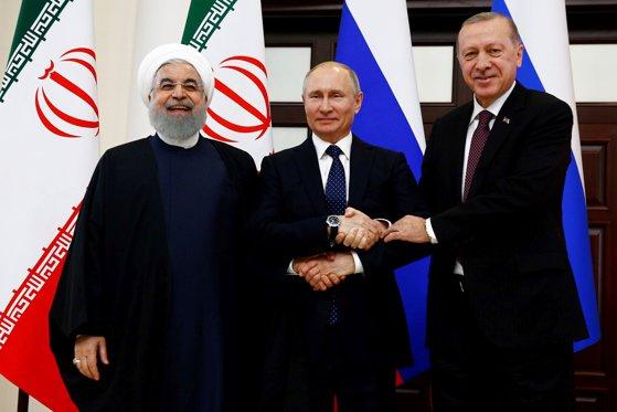 Imaginea articolului Erdogan îi va primi pe Putin şi Rouhani pentru summitul pe tema situaţiei din Siria